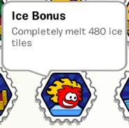 Ice bonus stamp book