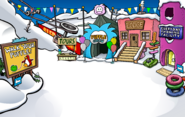 Puffle Party 2017 Ski Village