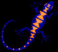 Wall Gecko sprite 004