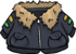 Grey Pilot's Jacket
