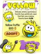 Yellow Puffle Adopt