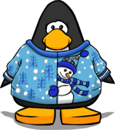 Ice Silly Snowman Sweater PC