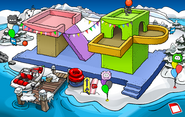 Puffle Party 2017 Dock