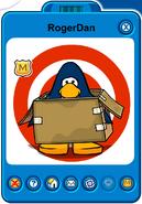 RogerDan Player Card - Mid January 2019 - Club Penguin Rewritten