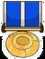 Sled Racing Medal Pin