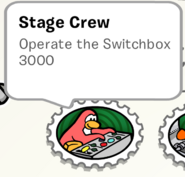 Stage Crew Stamp Book