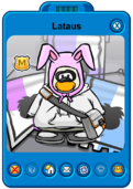 Lataus Player Card - Mid July 2019 - Club Penguin Rewritten