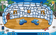 Skyver Igloo - Early August 2019 - Club Penguin Rewritten