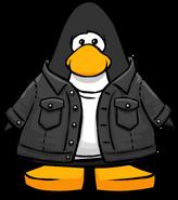 Black Denim Jacket PC