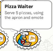 PizzaWaiter StampBook