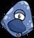 Blue Alien Mask
