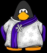 Purple Blizzard Wizard Robe PC