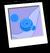 Purple Wave Background Icon
