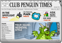 Club Penguin Times Issue 11