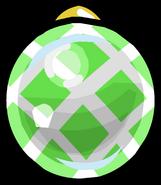 Green Crosshatched Bauble sprite 001