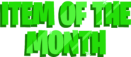 Item of the Month Oct 19
