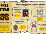 Rockhopper's Rare Items