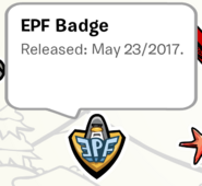EPF Badge Pin SB