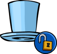Blue Top Hat Unlockable