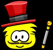 Great puffle circus ringmaster