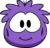 Purple Puffle Costume