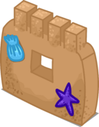 Sand Castle Wall sprite 002