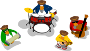 Penguin Band Music Jam