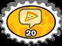 Pizza Lover Stamp