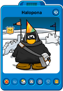 Halopona Player Card - Early January 2020 - Club Penguin Rewritten (2)