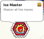 Ice master stamp book