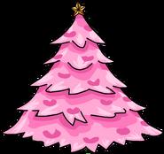 Pink Holiday Tree sprite 001