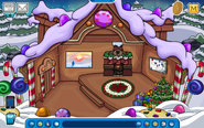 Thorn Igloo - Late December 2018 - Club Penguin Rewritten
