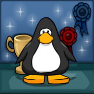 First Prize Puffle Background PC