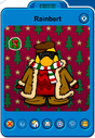 Rainbert Player Card - Mid November 2019 - Club Penguin Rewritten