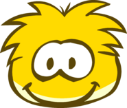 Gold Puffle Brown Eyes