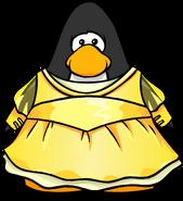 Gold Princess Dress PC