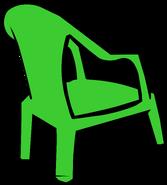 Green Plastic Chair sprite 004