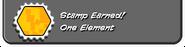 One Element earned