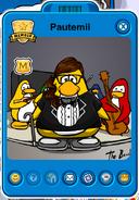 Pautemii Player Card - Mid February 2018 - Club Penguin Rewritten
