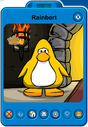 Rainbert Player Card - Early July 2019 - Club Penguin Rewritten