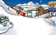 Ski Village Gem Pin