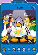 Thorn Player Card - Early June 2019 - Club Penguin Rewritten