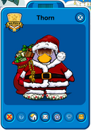 Thorn Player Card - Mid November 2019 - Club Penguin Rewritten