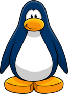 Blue Create Penguin