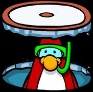 Ice Rink Snorkeler
