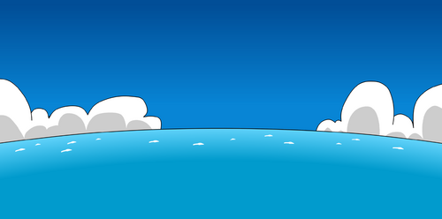 Sea background - Club Penguin Rewritten