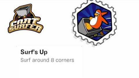 Club Penguin Rewritten - Cart Surfer Stamp Guide