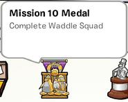 Mission 10 Medal SB
