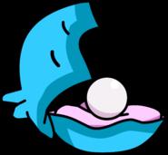 Aqua Grabber Clam with Pearl