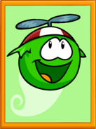 Green Puffle Poster sprite 002